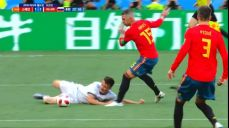 [스페인 VS 러시아] 골문 쇄도! 넘어지는 골로빈 SBS 2018 FIFA 러시아 월드컵 93회