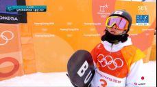 남자 하프파이프 - 안타까운 착지 실패, 히라노 아유무의 결승 1차 2018 평창 동계올림픽대회 33회