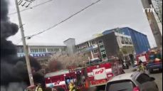 [제보영상] 인천 가좌동 공단 화재..소방차에 불붙어 폭발까지